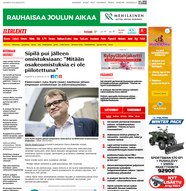 www.iltasanomat.fi uutiset