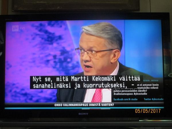 emeritusprofessori martti kekomäki